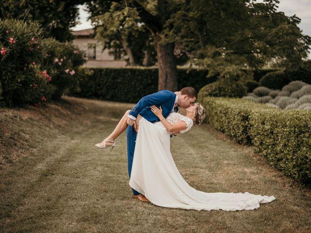 Le mariage de Jonh et Alexia à Les Arcs, Var 98