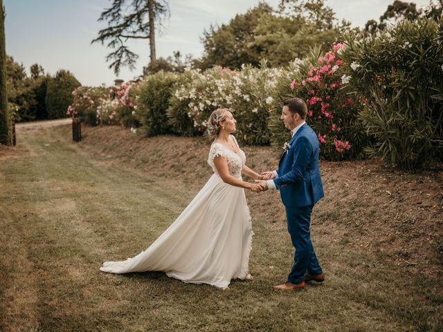 Le mariage de Jonh et Alexia à Les Arcs, Var 100