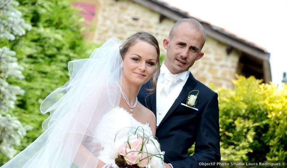 Le mariage de Julien et Gaëlle à Chazay-d'Azergues, Rhône