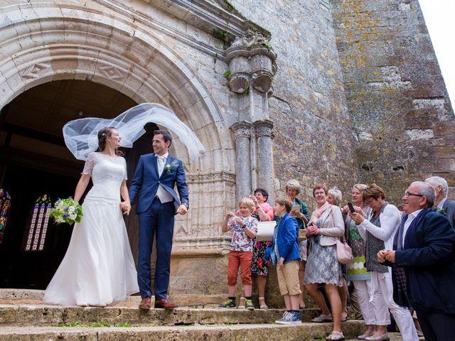 Le mariage de Jonas et Marike à Miradoux, Gers 1