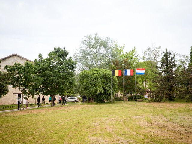 Le mariage de Jonas et Marike à Miradoux, Gers 19