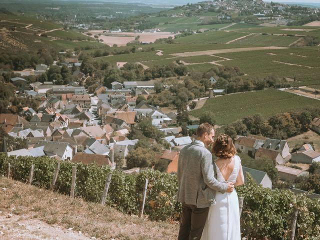 Le mariage de Sébastien et Coralie à Sancerre, Cher 25