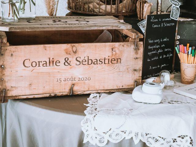Le mariage de Sébastien et Coralie à Sancerre, Cher 48