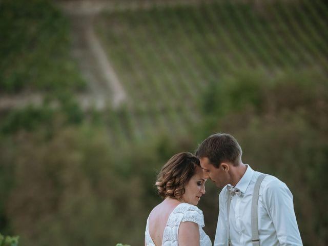 Le mariage de Sébastien et Coralie à Sancerre, Cher 1