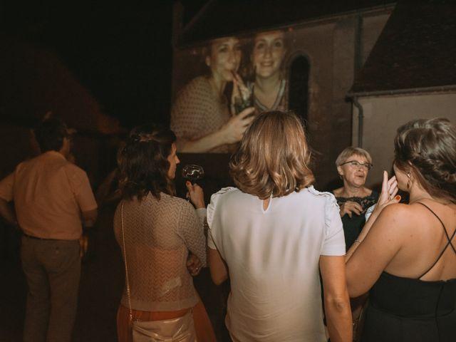 Le mariage de Sébastien et Coralie à Sancerre, Cher 55