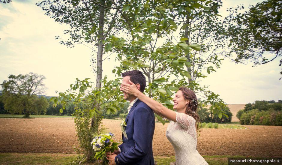 Le mariage de Jonas et Marike à Miradoux, Gers