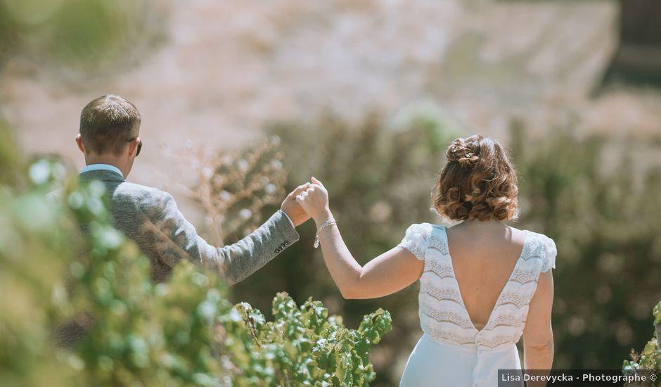 Le mariage de Sébastien et Coralie à Sancerre, Cher