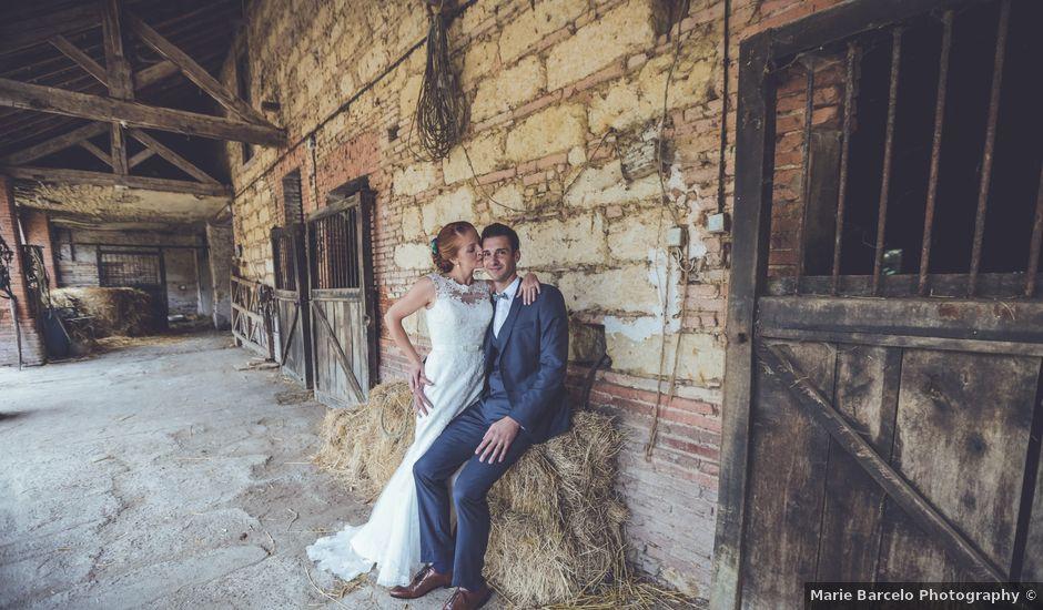 Le mariage de Benjamin et Valérie à Saint-Lizier-du-Planté , Gers