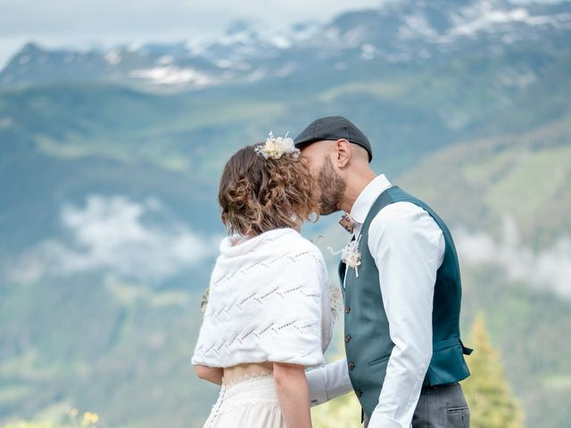 Le mariage de Nathalie et Benjamin à Hauteluce, Savoie 8