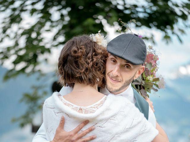 Le mariage de Nathalie et Benjamin à Hauteluce, Savoie 12