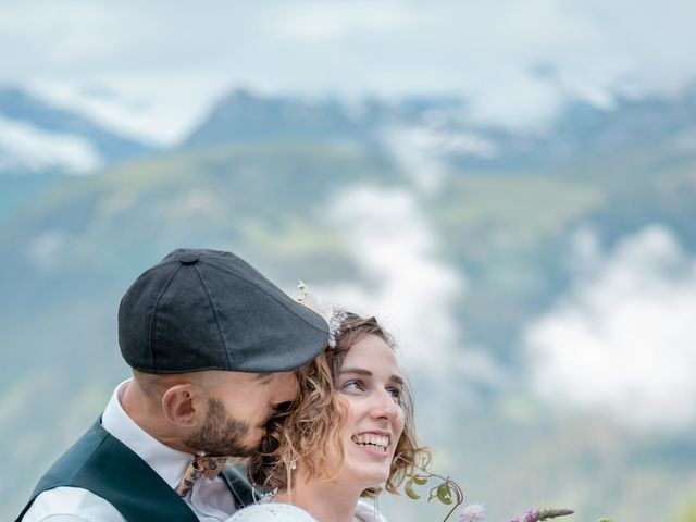 Le mariage de Nathalie et Benjamin à Hauteluce, Savoie 14