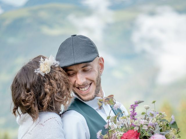 Le mariage de Nathalie et Benjamin à Hauteluce, Savoie 15