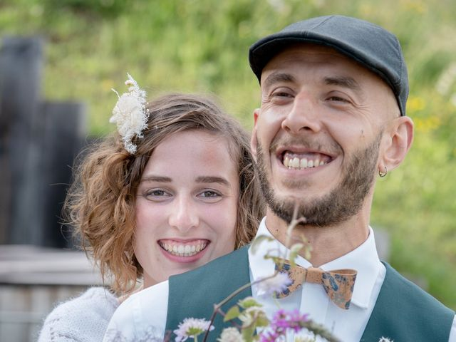 Le mariage de Nathalie et Benjamin à Hauteluce, Savoie 16