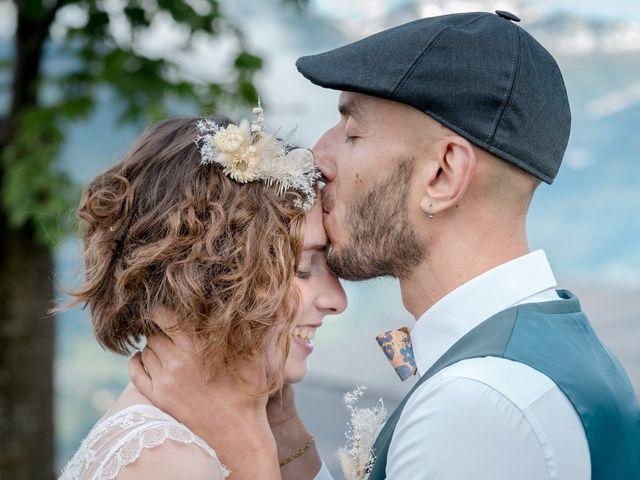 Le mariage de Nathalie et Benjamin à Hauteluce, Savoie 19