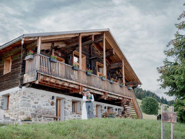 Le mariage de Nathalie et Benjamin à Hauteluce, Savoie 1