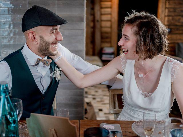 Le mariage de Nathalie et Benjamin à Hauteluce, Savoie 56