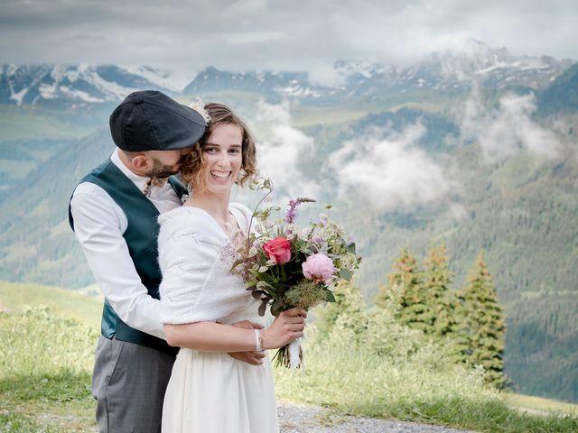 Le mariage de Nathalie et Benjamin à Hauteluce, Savoie 2