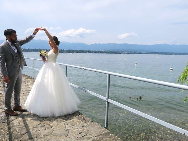 Le mariage de Yacine et Mélanie   à Cruseilles, Haute-Savoie 2