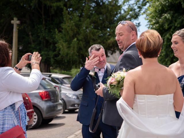 Le mariage de David et Clairette à La Selle-la-Forge, Orne 6
