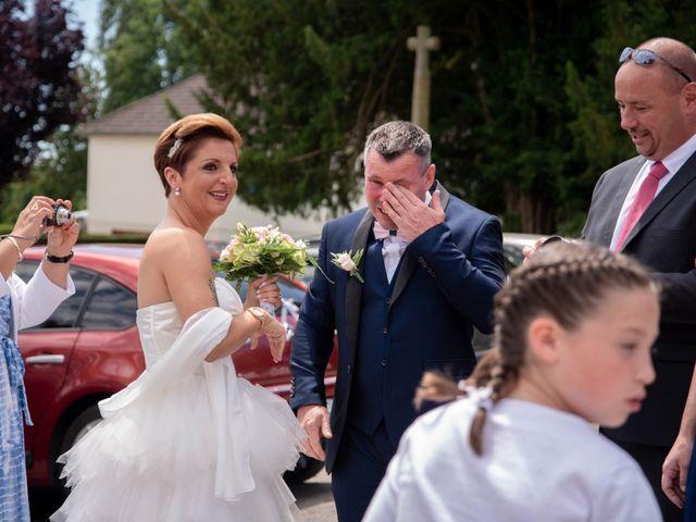 Le mariage de David et Clairette à La Selle-la-Forge, Orne 7