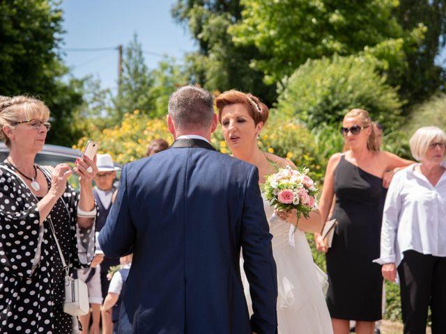 Le mariage de David et Clairette à La Selle-la-Forge, Orne 8