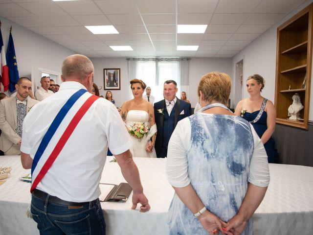 Le mariage de David et Clairette à La Selle-la-Forge, Orne 11