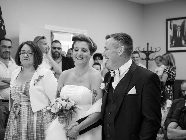 Le mariage de David et Clairette à La Selle-la-Forge, Orne 12