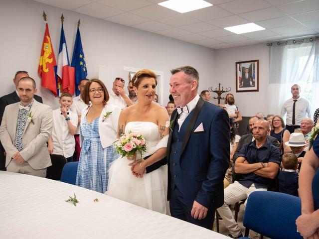 Le mariage de David et Clairette à La Selle-la-Forge, Orne 13