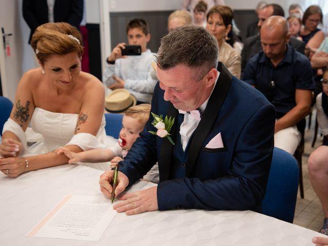 Le mariage de David et Clairette à La Selle-la-Forge, Orne 15