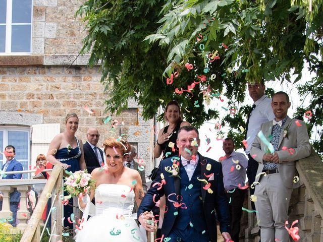 Le mariage de David et Clairette à La Selle-la-Forge, Orne 19