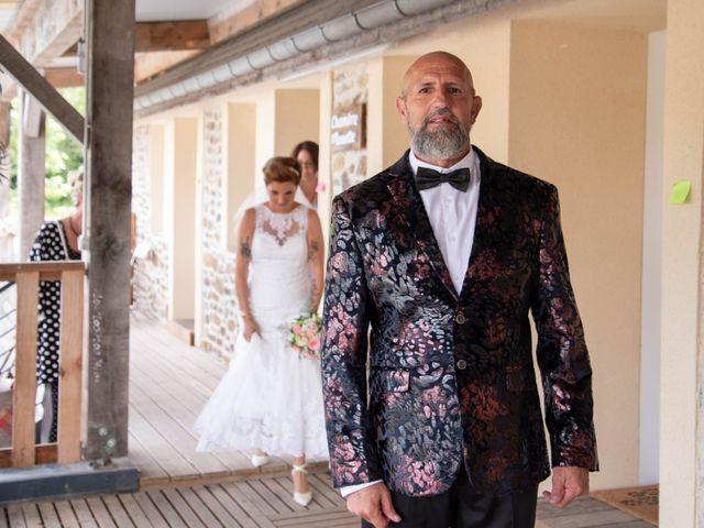 Le mariage de David et Clairette à La Selle-la-Forge, Orne 26