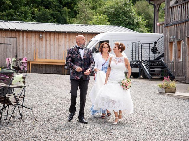 Le mariage de David et Clairette à La Selle-la-Forge, Orne 28