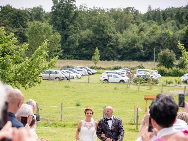 Le mariage de David et Clairette à La Selle-la-Forge, Orne 30