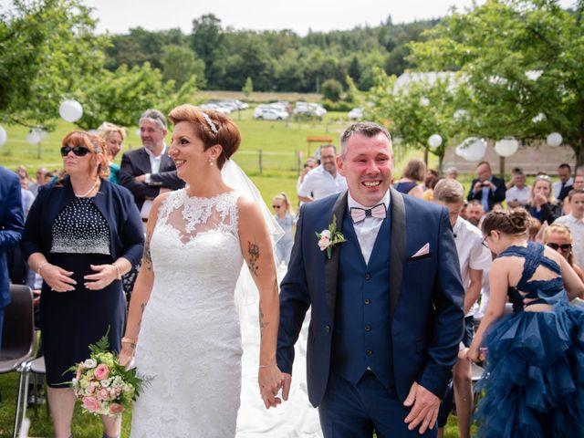 Le mariage de David et Clairette à La Selle-la-Forge, Orne 34