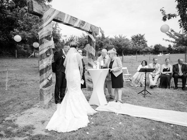 Le mariage de David et Clairette à La Selle-la-Forge, Orne 42