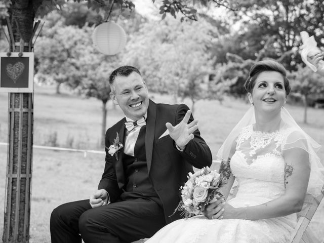 Le mariage de David et Clairette à La Selle-la-Forge, Orne 44