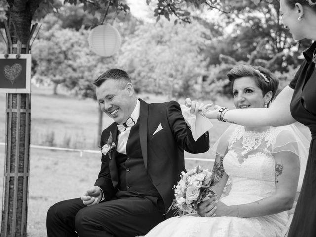 Le mariage de David et Clairette à La Selle-la-Forge, Orne 45