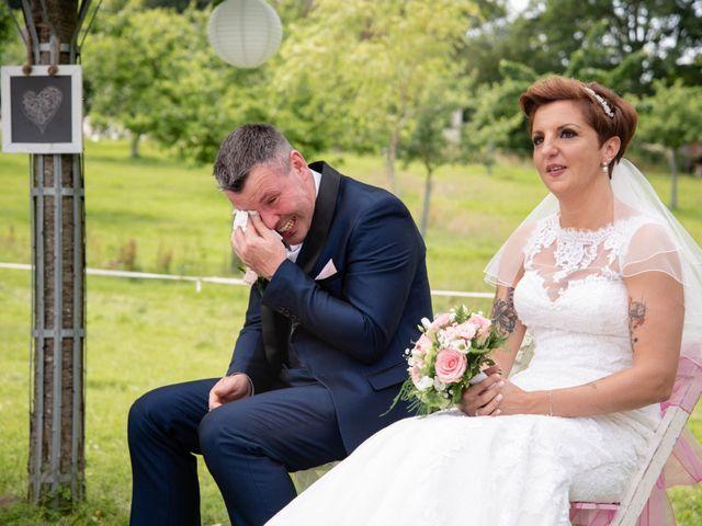 Le mariage de David et Clairette à La Selle-la-Forge, Orne 46