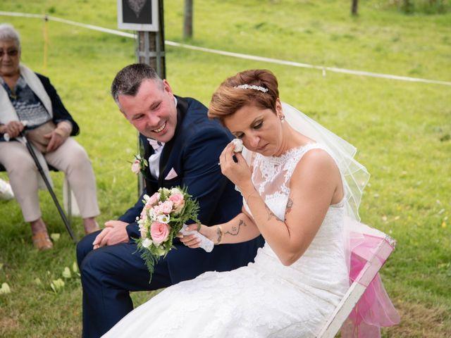 Le mariage de David et Clairette à La Selle-la-Forge, Orne 48