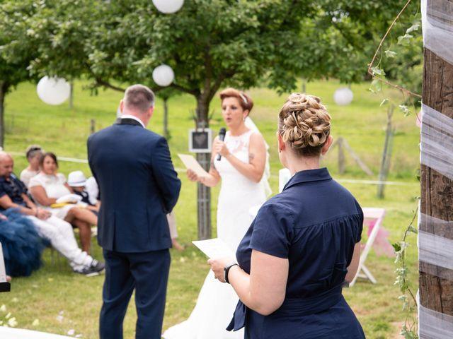 Le mariage de David et Clairette à La Selle-la-Forge, Orne 51
