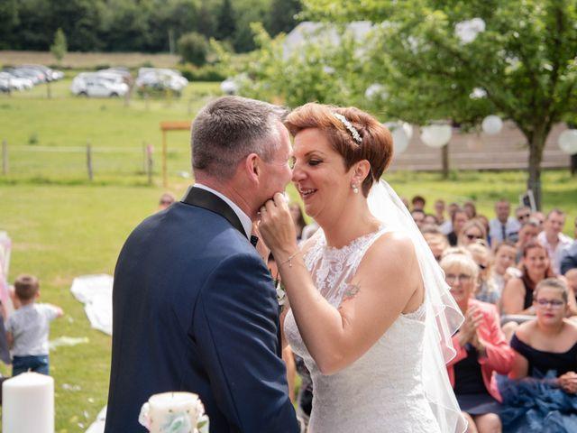 Le mariage de David et Clairette à La Selle-la-Forge, Orne 52