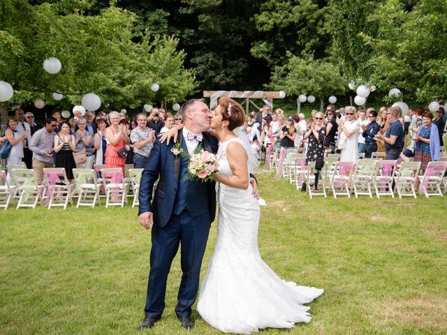 Le mariage de David et Clairette à La Selle-la-Forge, Orne 55