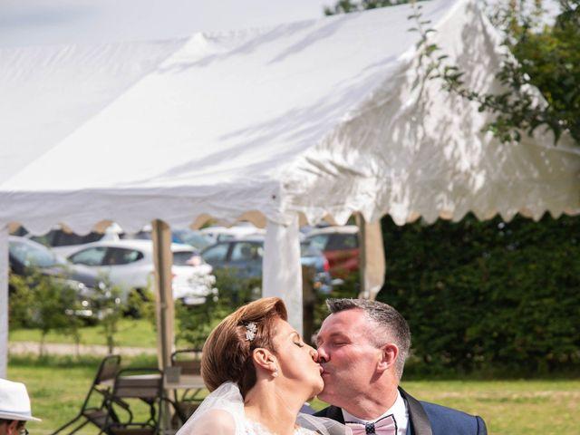 Le mariage de David et Clairette à La Selle-la-Forge, Orne 57