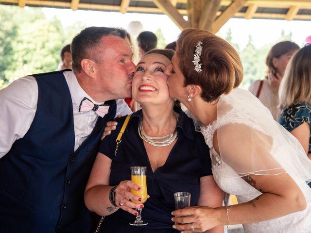 Le mariage de David et Clairette à La Selle-la-Forge, Orne 58