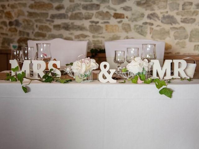 Le mariage de David et Clairette à La Selle-la-Forge, Orne 2