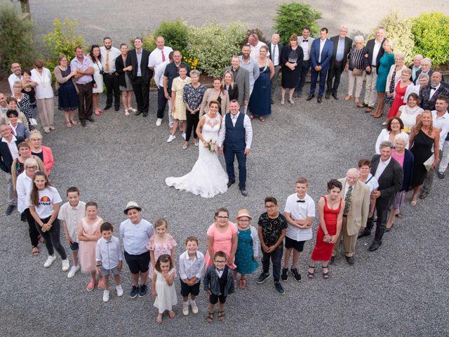 Le mariage de David et Clairette à La Selle-la-Forge, Orne 68