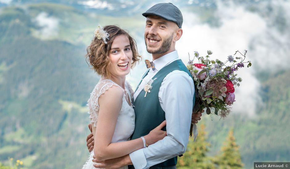 Le mariage de Nathalie et Benjamin à Hauteluce, Savoie