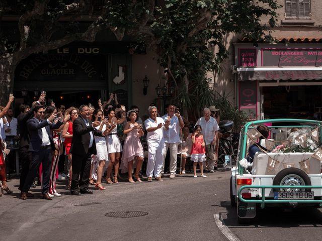 Le mariage de Yohan et Alexandra à Signes, Var 16