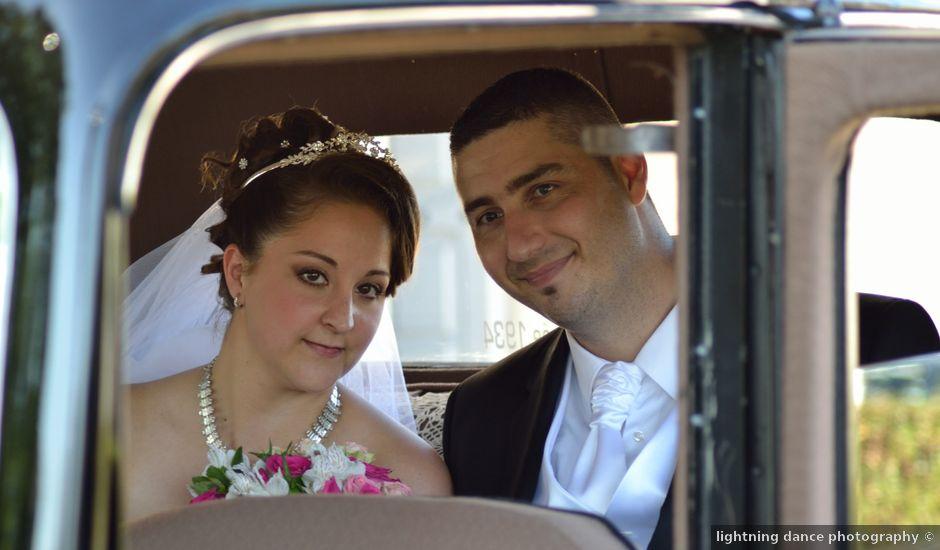 Le mariage de Gregory et Gaëlle à Saint-Jean-d'Illac, Gironde