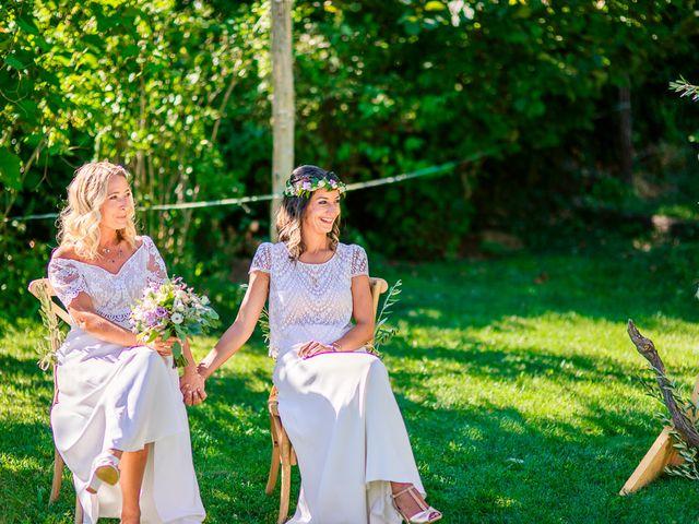 Le mariage de Laëtitia et Mélissa à Génolhac, Gard 25